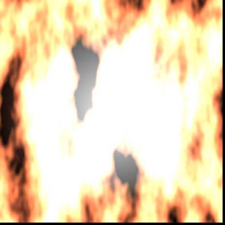 炎のアニメーション by XELF