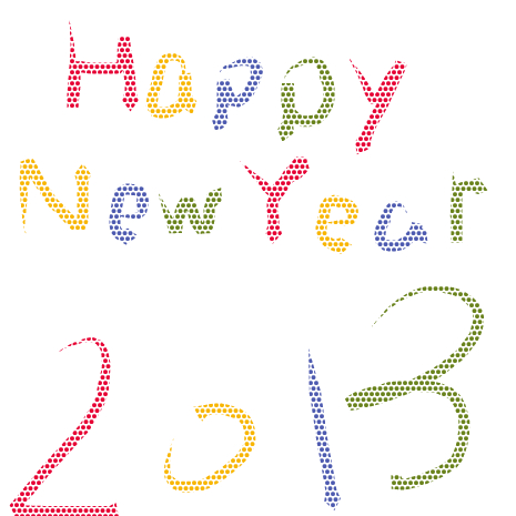 Happy 2013 by ton