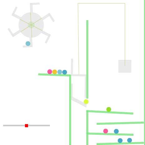[Box2D] ピタゴラスイッチみたいなことがしたかった 反省はしている by enoeno