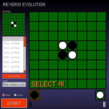 REVERSI EVOLUTION by shohei909