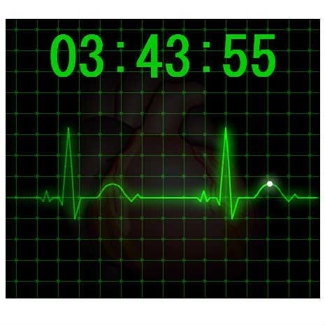 Heart Beat Clock
