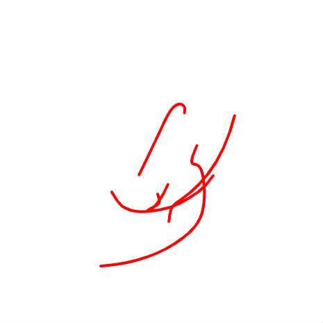 描いたラインが芋虫のように追いかけてきます by okoi