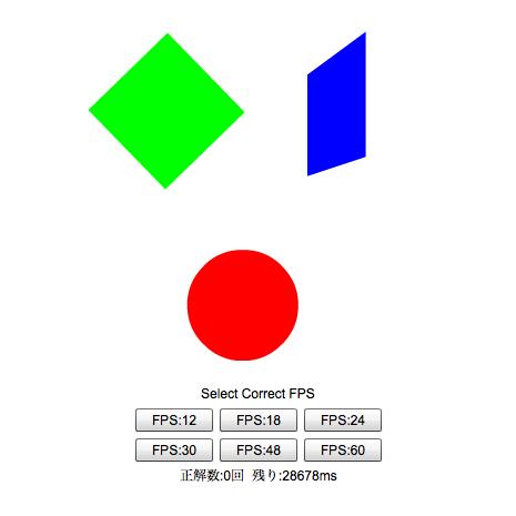 Flasher格付けチェック〜フレームレートの目利きテスト〜