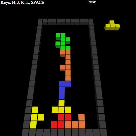 Tetris3D by yonatan