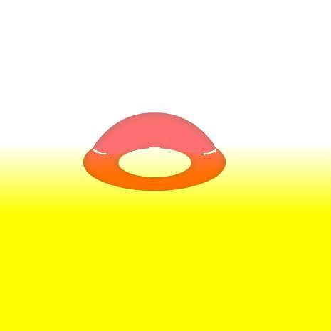 屈折ドーナツ by nabe