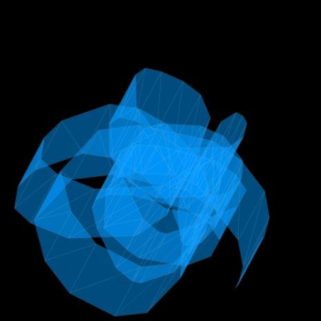 平面に描いた線を3D化(暫定Ver) by Kay