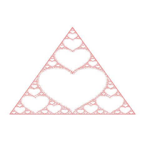 Sierpinski Valentine by makc3d