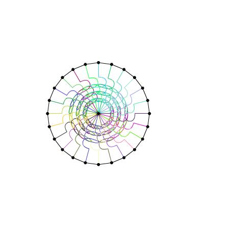 ボールが弾む表現 forked from: ぼんよよよ〜ん forked from: spring ball by kawamura