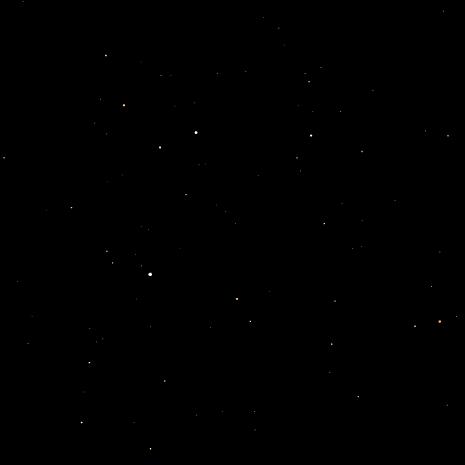 4等星までの全天図 by uwi