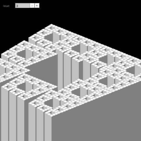 Penrose Stairs Fractal