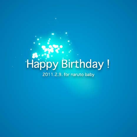 Happy Birthday ! [TrackLight + Wonderfl Color] by ProjectNya