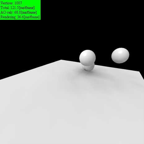 Real time ambient occlusion by keim_at_Si
