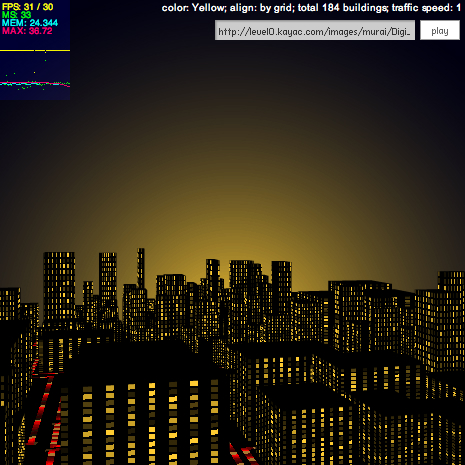 soundSpectrumCity by zonnbe