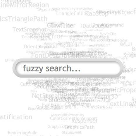 Fuzzy search algorithm