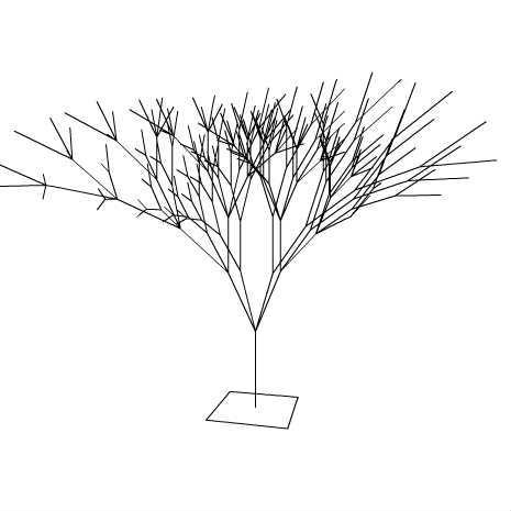 Thurs grow 3D(伸びてゆく木 PV3D) by OKASUKE