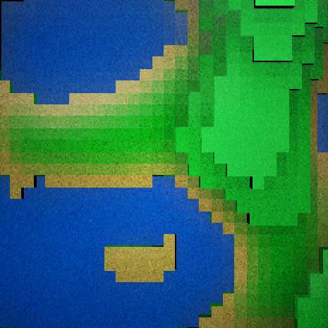 Pseudo 3d terrain