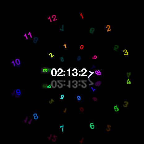 Colorful Clock Circulation by matsu4512