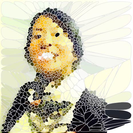 Voronoi Face by fumix