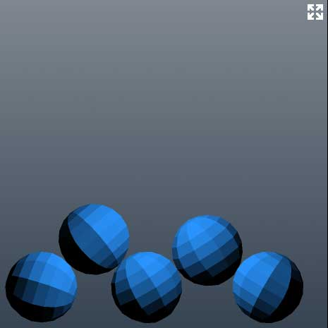 Thumbnail : [Box2D][PV3D] 3D Ball Simulation