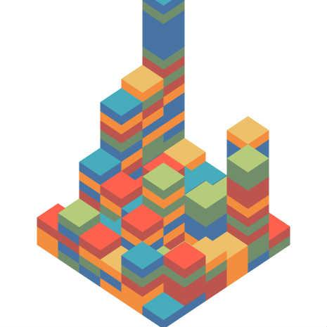 Isometric Blocks by paq