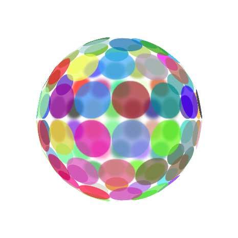 Spriteを球状に配置するだけ by sakef