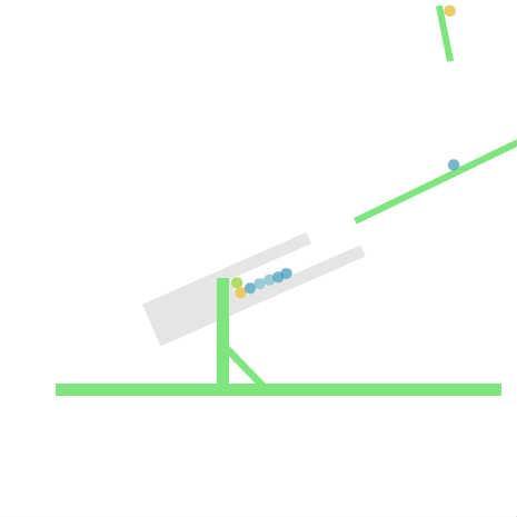 [Box2D] デジタルししおどし (カラーバリエーション)
