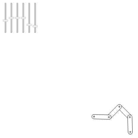 フォワードキネマティクス:歩行 by _wonder